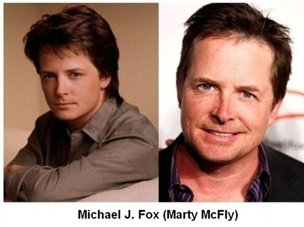 The cast of 'Back to the Future' then and now