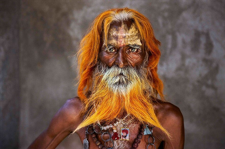 Portraits of people around the world by Steve McCurry