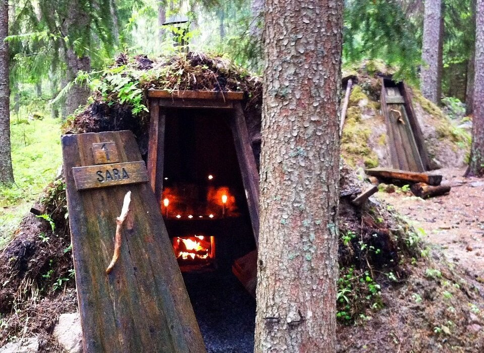 This Lodge In Sweden Helps You Relax By Giving You Really Hard Work