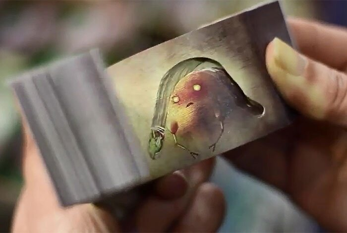 Japanese Flip Books Reveal Magical Stories