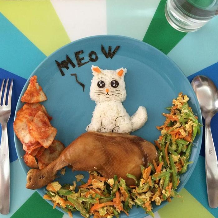 Creative meals for children