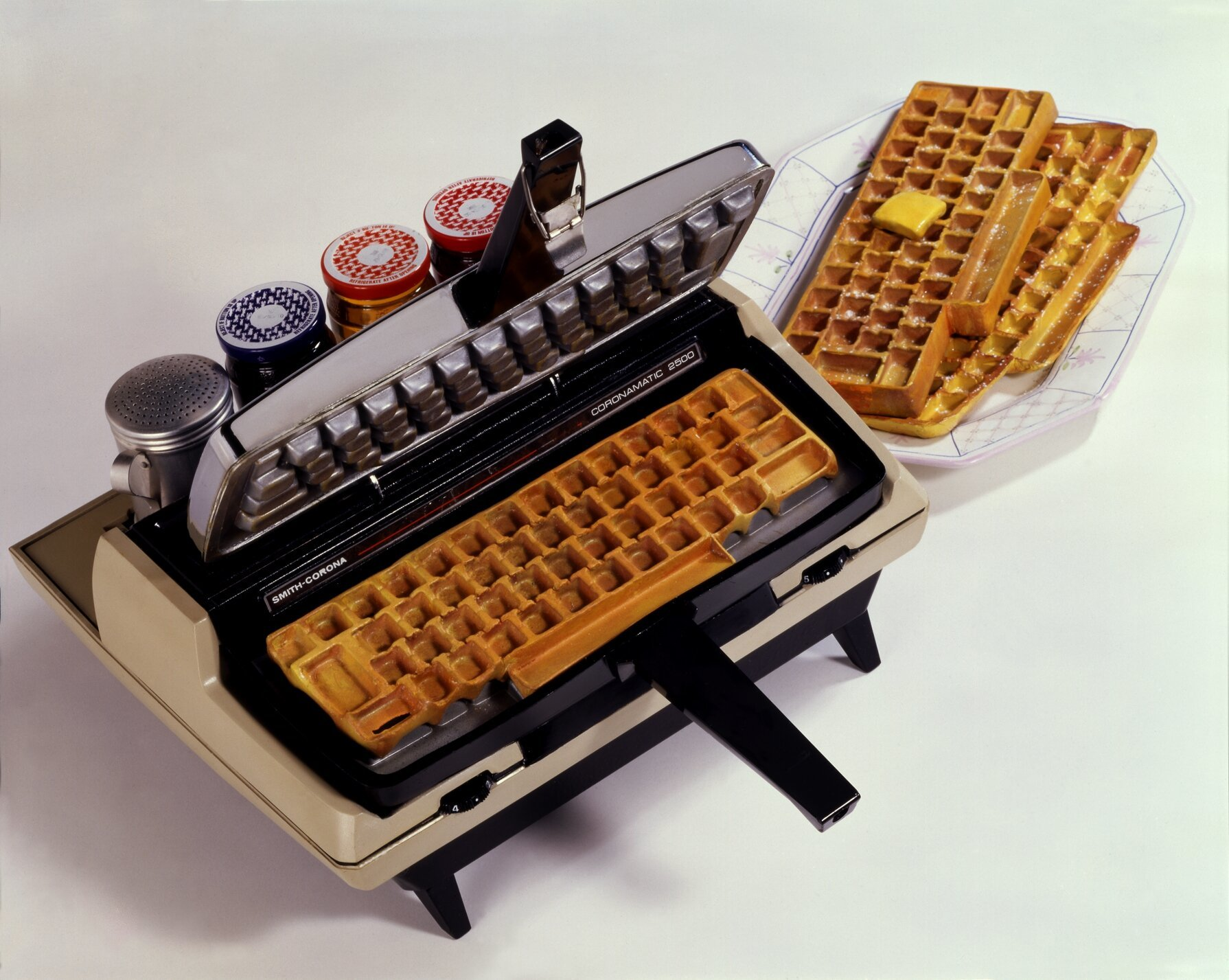 Your Weird Dreams Of Eating A Waffle Keyboard Have Finally Come True