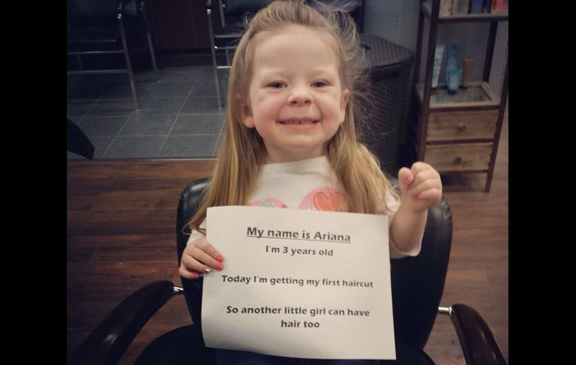 3 year old girl restores our faith in humanity