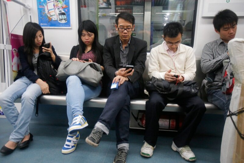 Smartphones Are Taking over the World