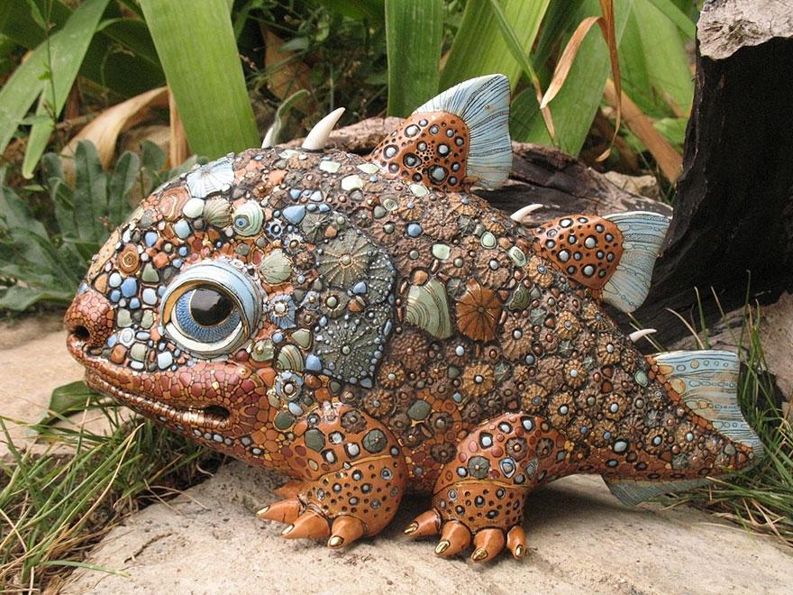 Fairytale Porcelain Creatures By Ukrainian Artist Duo