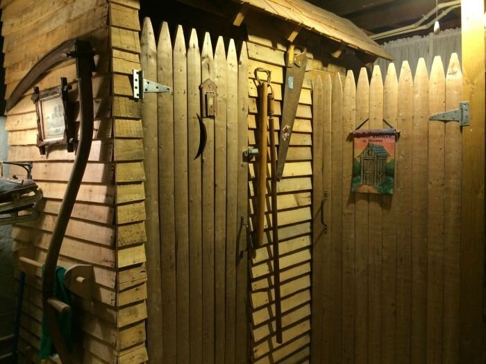 These People Put An Outhouse In Their Basement