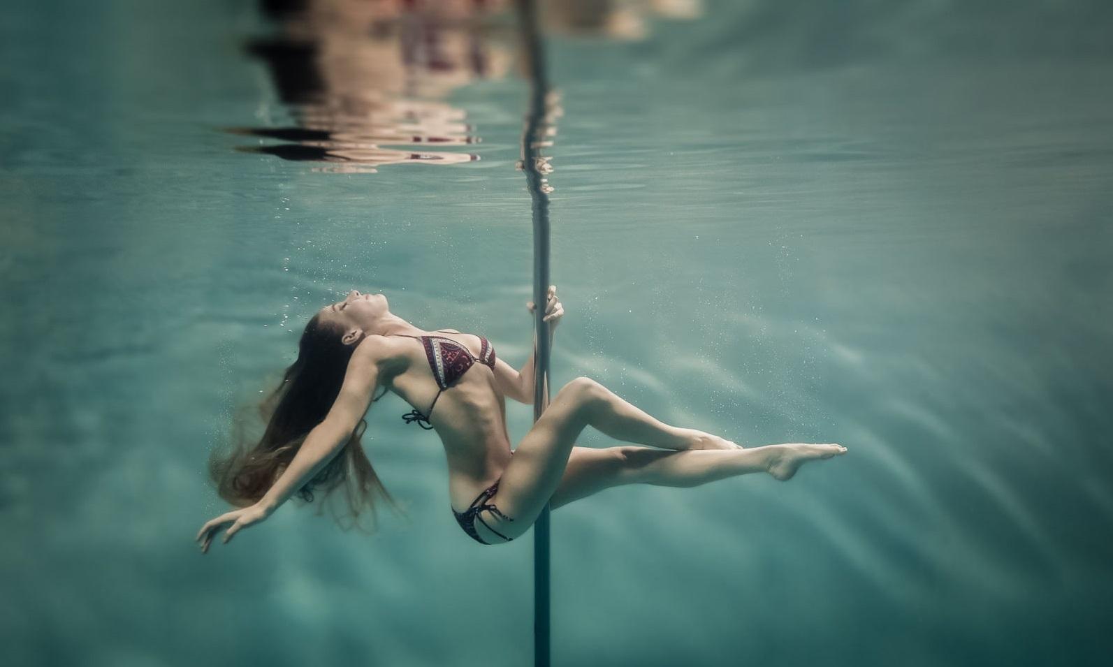 Incredible Underwater Pole Dancing Photographs By Brett Stanley