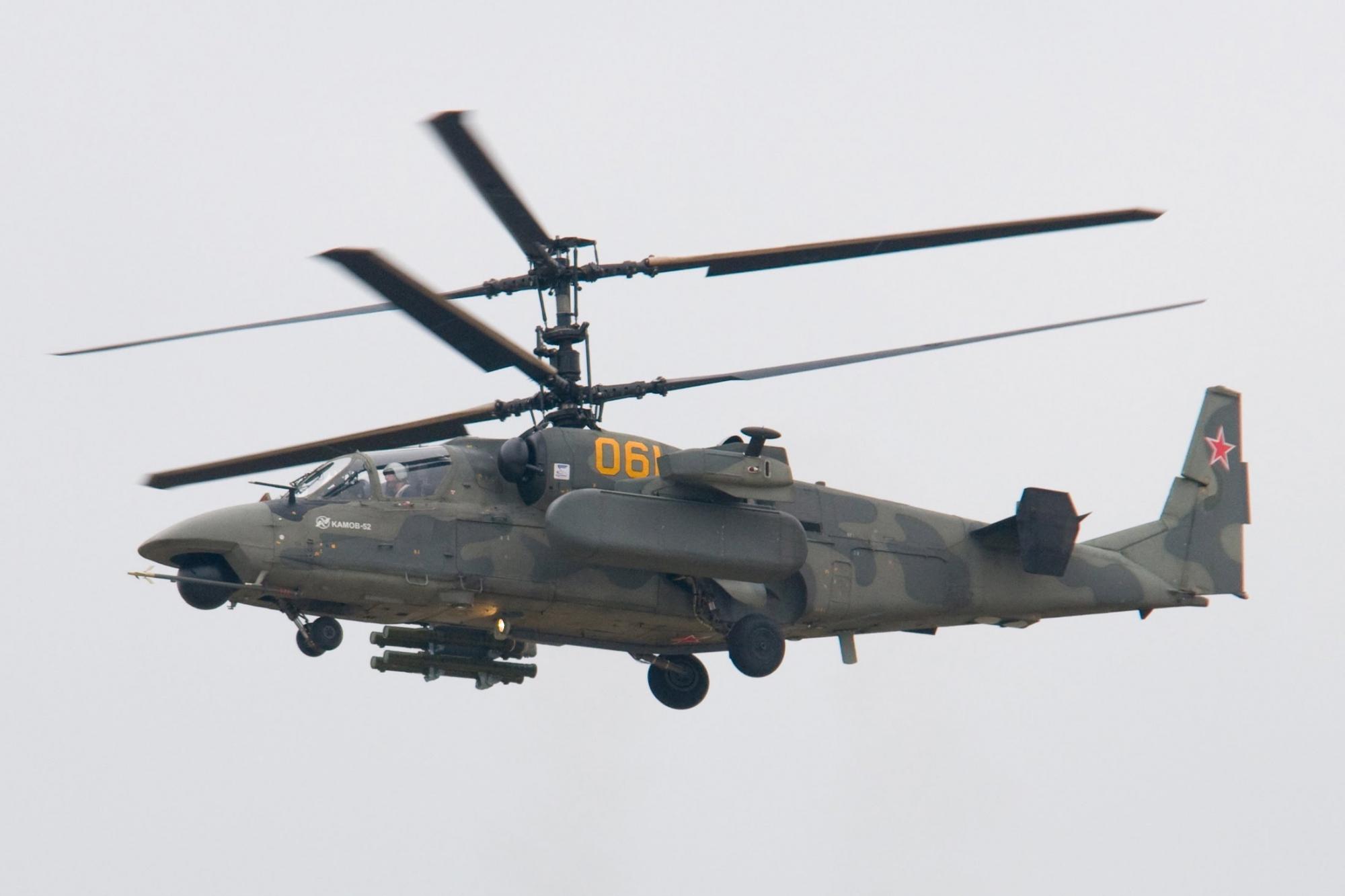 Russian Helicopters Ka 52 «Alligator»
