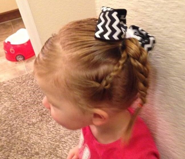 This Single Dad Didn't Know How To Braid His Daughter's Hair
