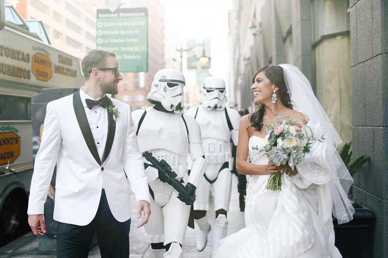 This Creative Couple Had The Classiest Star Wars Wedding Ever