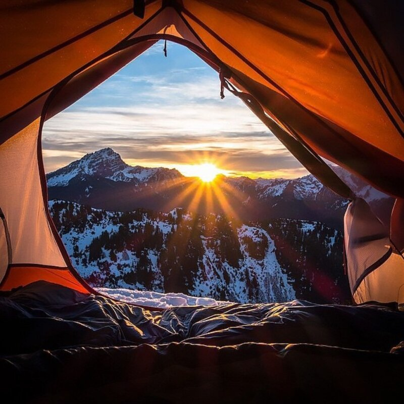25 Incredible Tent-Views To Inspire A Little Camping Lust