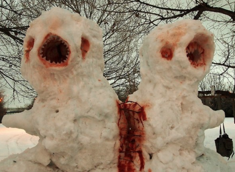 Do You Want To Build A (Horrifying) Snowman?