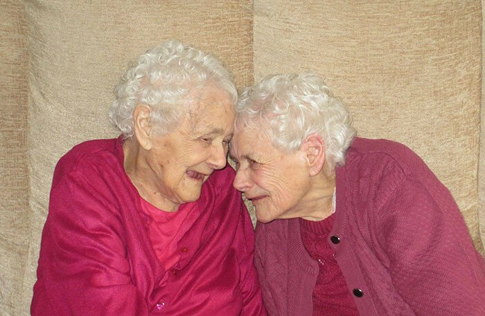 The World's Oldest Identical Twin Sisters
