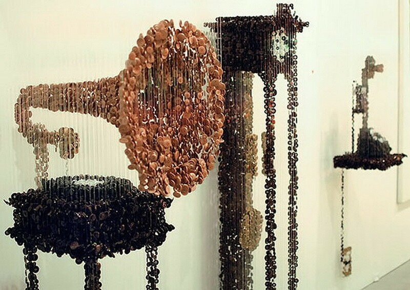 These Sculptures Are Made From An Everyday Item