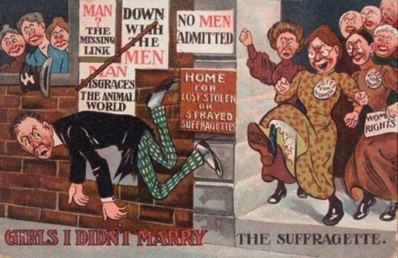 16 Posters That Warned Men About The Dangers Of Women Having Rights