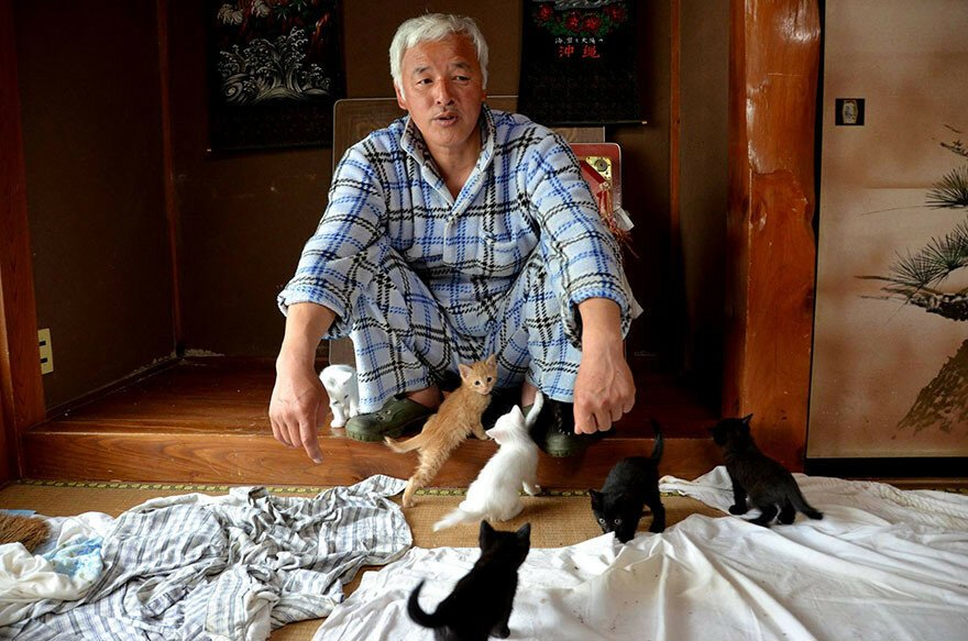 The Radioactive Man Who Returned To Fukushima To Feed The Animals