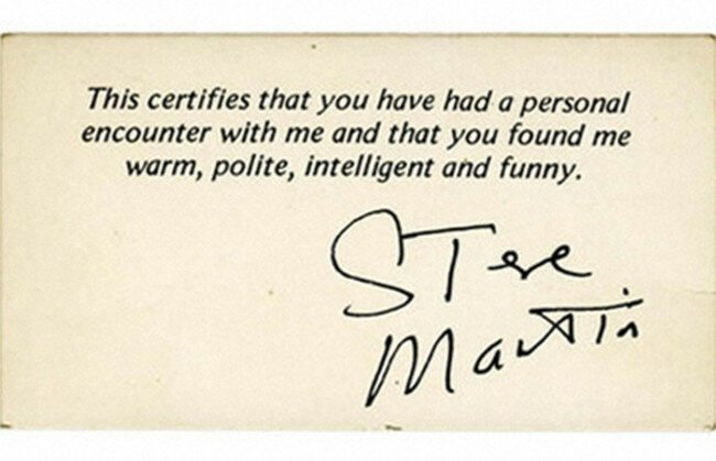28 Quirky Business Cards That Offer Unique Insight On Celebrities