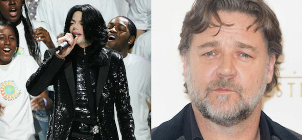 Michael Jackson Prank Called Russell Crowe For Three Years