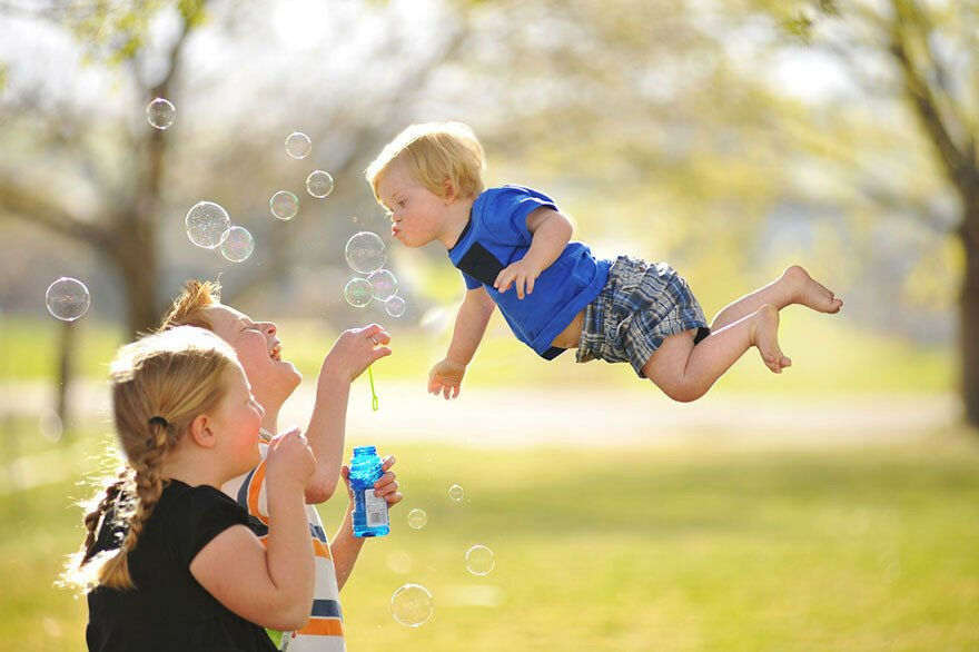 Photographer Dad Makes His Son With Down Syndrome Fly