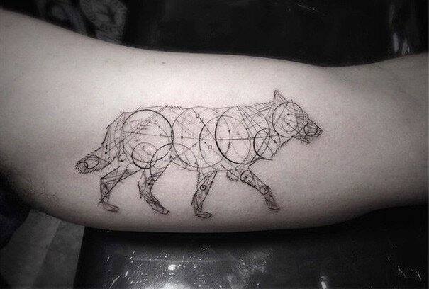 Geometric Tattoos By Dr. Woo