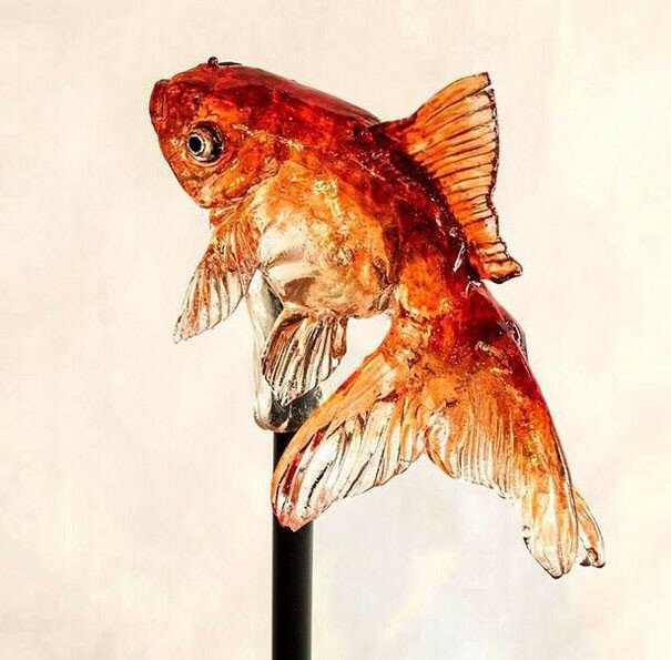 Realistic Animal Lollipops By Young Japanese Master