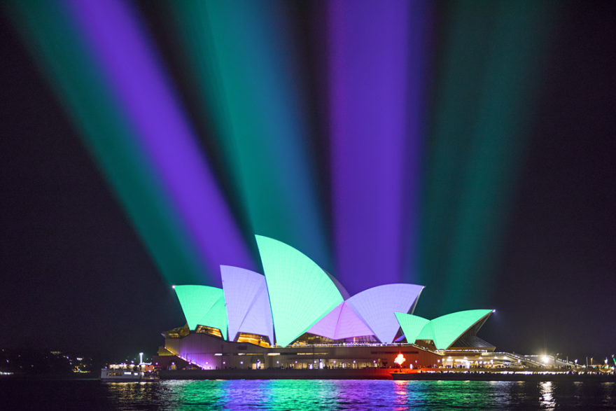 Sydney's Amazing Festival Of Lights