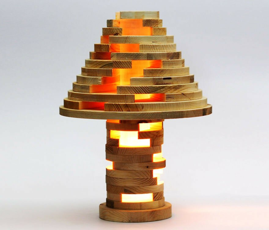 DIY Shape-Shifting Lamp That You Can Flip, Swirl And Arrange However Y