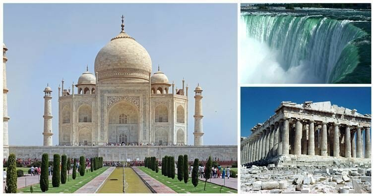 15 Famous Landmarks From A Different Perspective