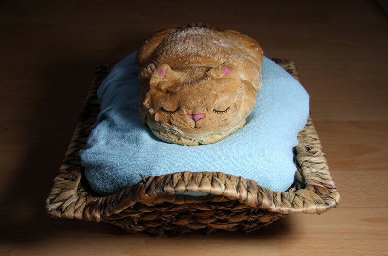 Baker Turns Bread Into Ultra-Cute Catloaf