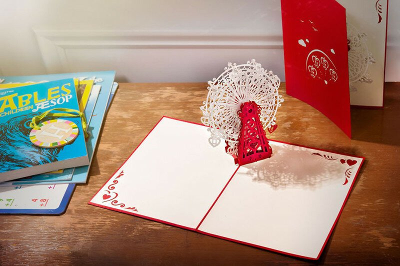 My Friends Design Crazily Detailed Cards That Pop Up With Surprises