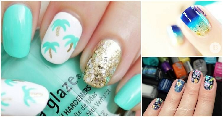 16 Beach Babe Manicures That Are Better Than A Sunburn