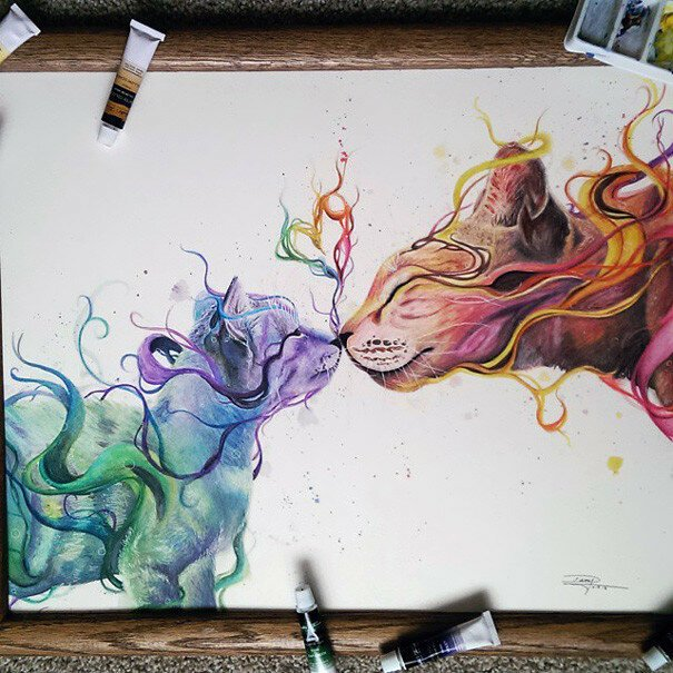17-Year-Old Self-Taught Mexican Artist Creates Stunning Drawings