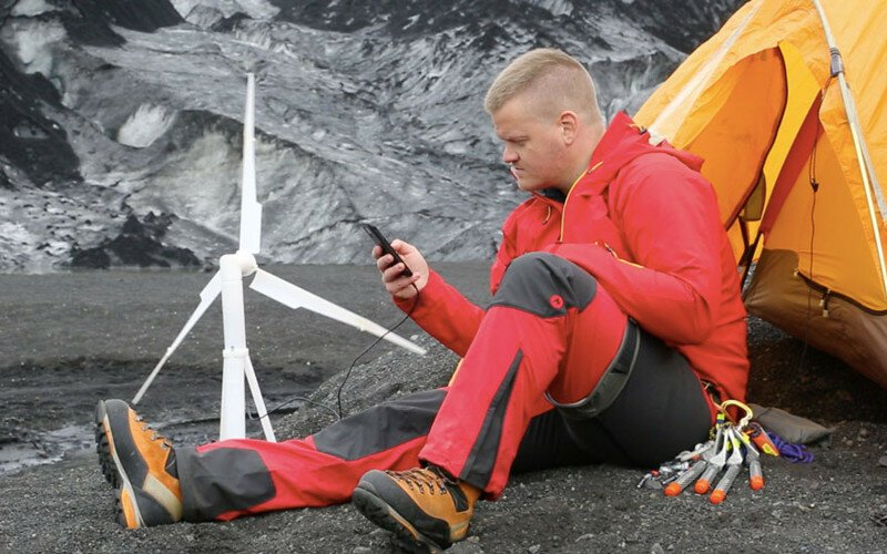 Portable Wind Turbine Blows Everyone Away On Kickstarter