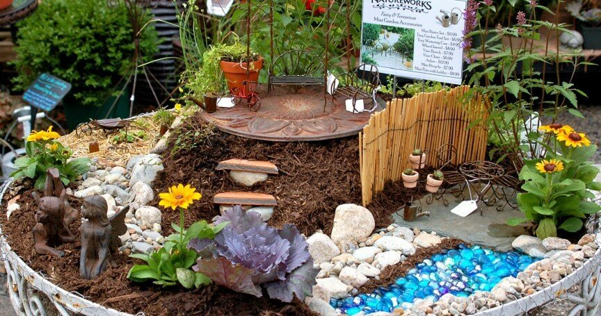 The 20 Most Original Fairy Garden Designs