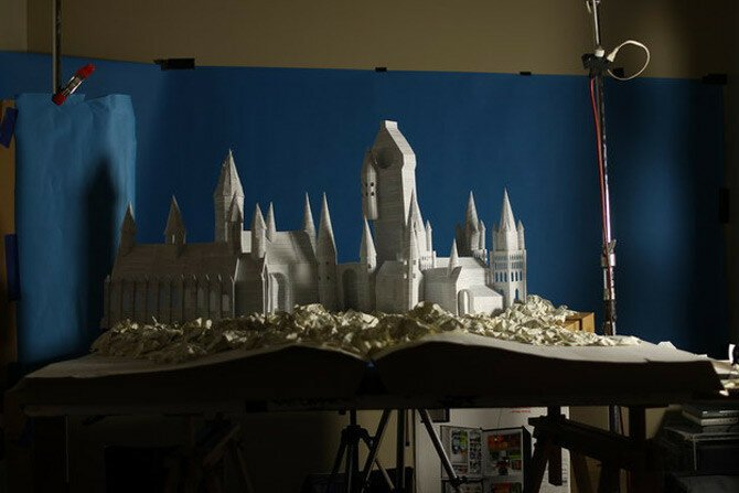 "Someone Built Hogwarts From The Pages Of A ""Harry Potter"" Book"