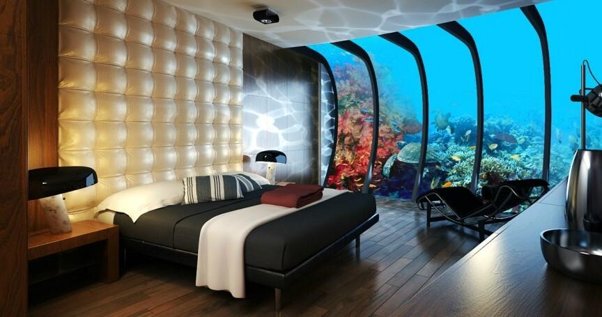 10 Most Impressive Underwater Hotels Around The World