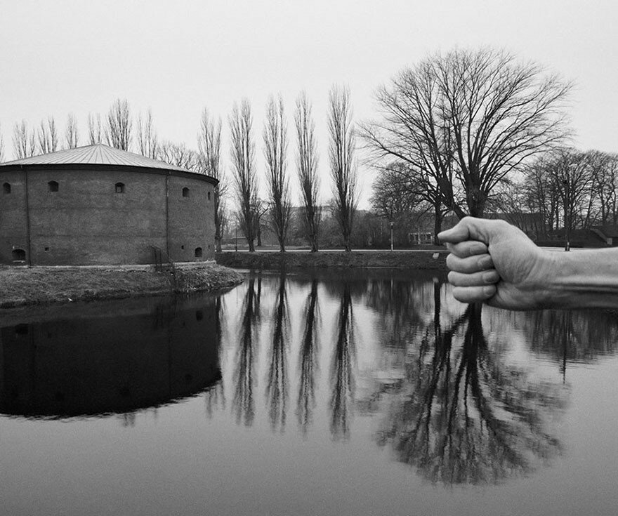 Photographer Uses His Own Nude Body To Create Surreal Worlds