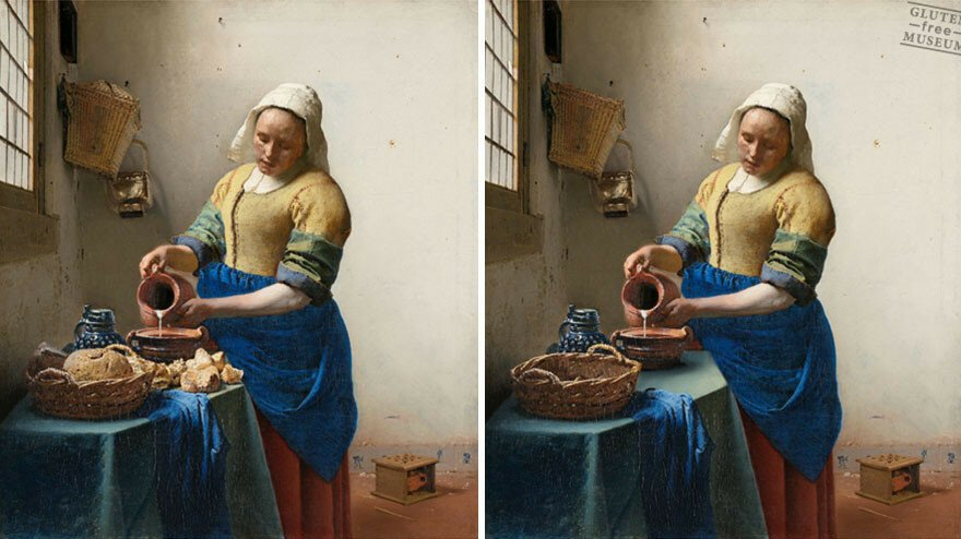 Gluten-Free Art Museum Lets You Enjoy Famous Artworks Without Gluten