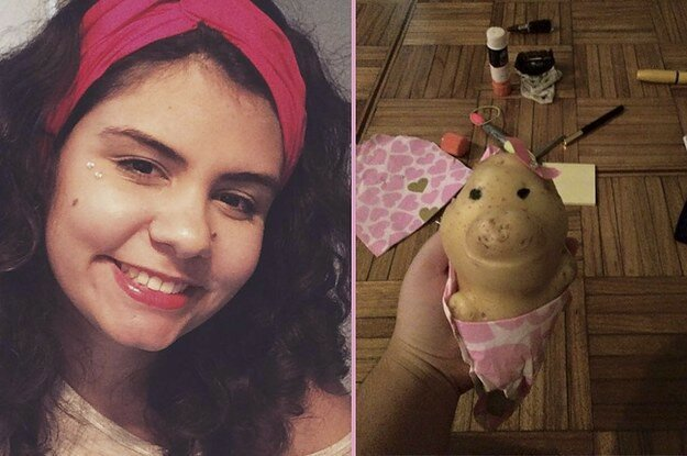 This Girl Put Little Clothes On A Potato And Everyone's Freaking Out About It