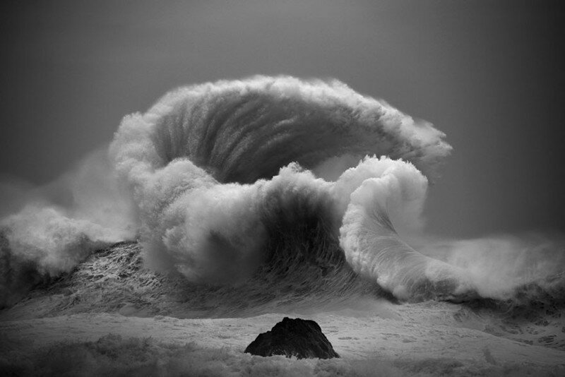 The Majestic Power Of Ocean Waves By Luke Shadbolt