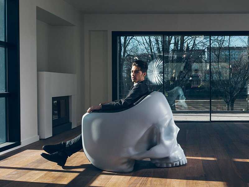 Skull Armchair To Satisfy Your Inner Villain