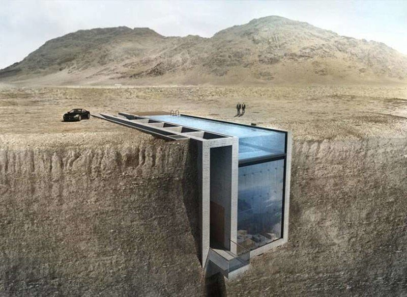 This House Is Literally In The Side Of A Cliff But Don't Let That Deter You