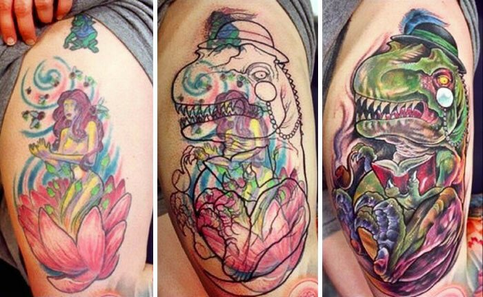 70 Creative Cover-Up Tattoo Ideas That Show A Bad Tattoo Is Not The End Of Life