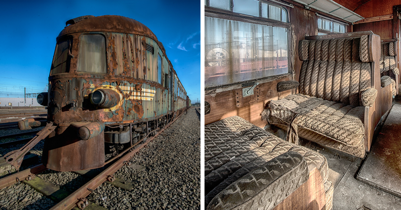 Abandoned Orient Express Train Reminds Us Of The Luxury Travel Of The Past