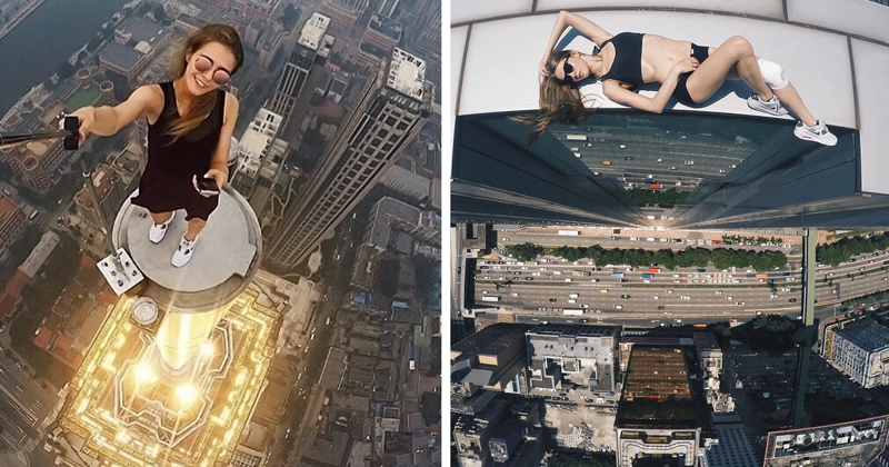 This Russian Girl Takes The Riskiest Selfies Ever
