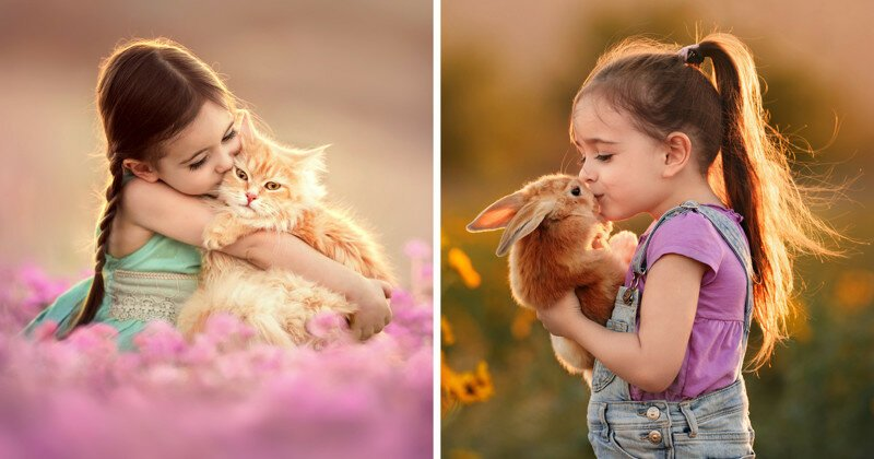 I Capture The Special Bond Between My Daughter And Animals