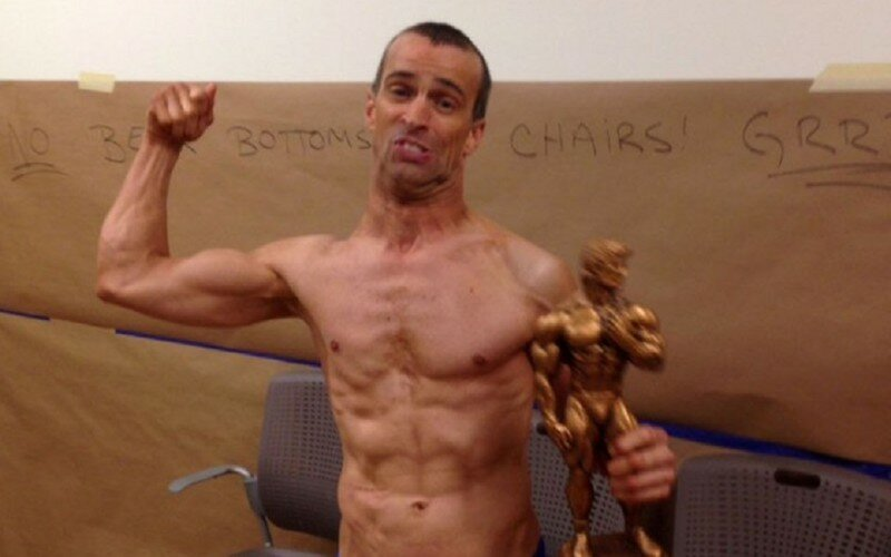 Meet Steve Alexy, who at 43 and despite having Cerebral Palsy is the latest body-building sensation