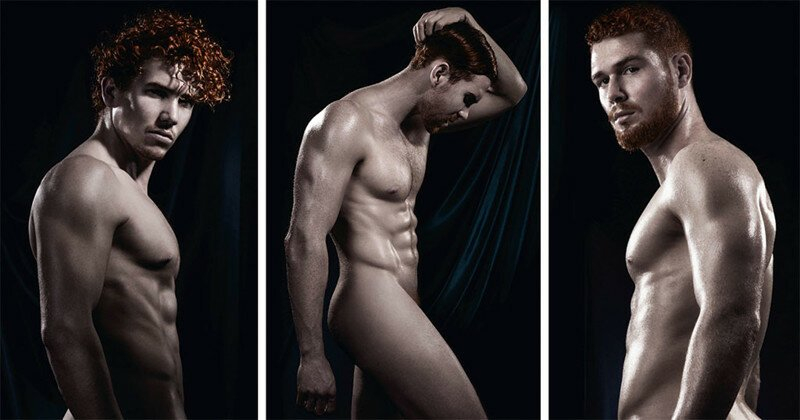 World's First Ever Calendar Of Naked Red-Haired Men That We Made For 2017