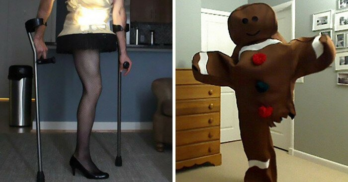 Every Halloween This One-Legged Guy Makes A Halloween Costume. He Just Revealed His Newest Idea
