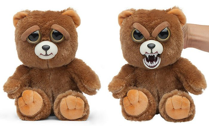 Stuffed Animals Turn From Adorable To Terrifying When You Squeeze Them